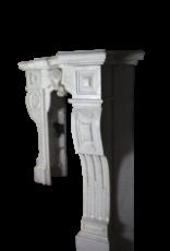 The Antique Fireplace Bank Belgischen Weiß Kamin