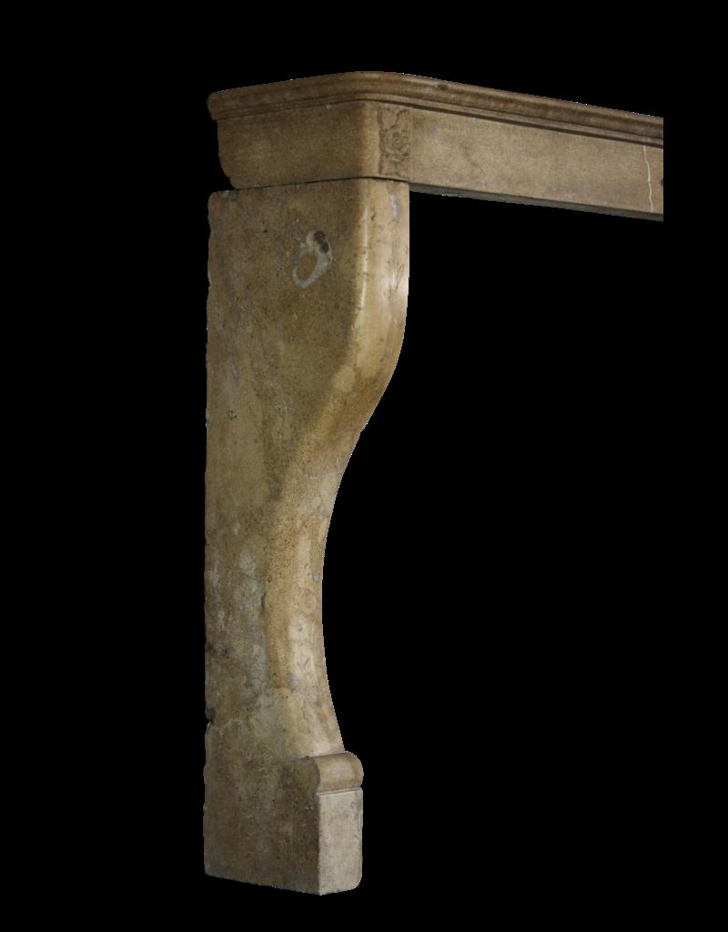 Art Deco Flower Detail French Limestone