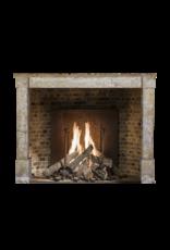 The Antique Fireplace Bank Französisch Rustic Harter Kalkstein Kaminmaske