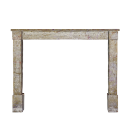 French Rustic Fireplace Surround