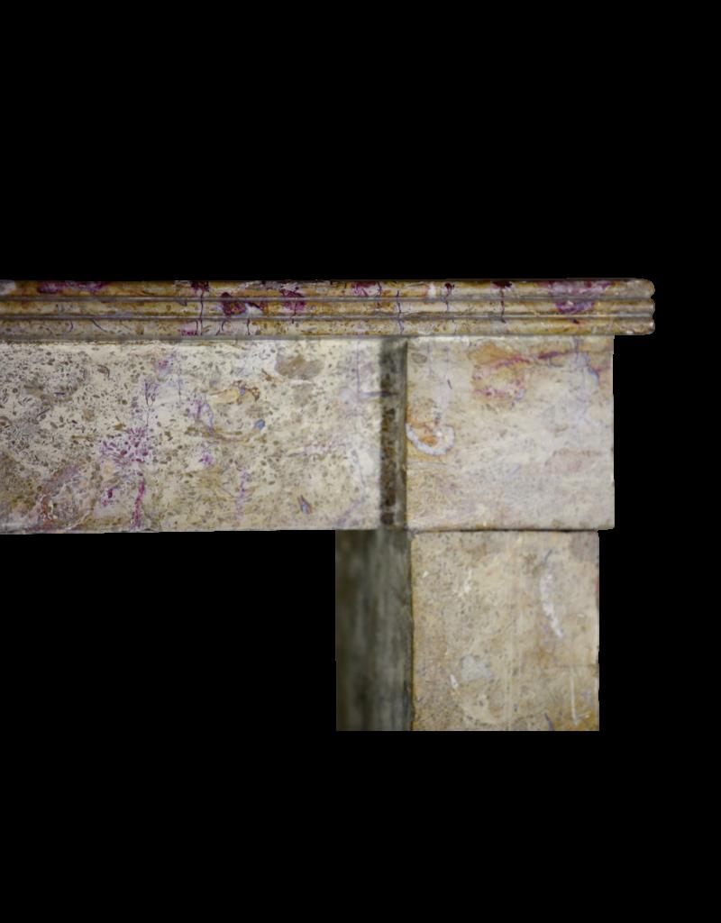 Francés Duro Rústica De Piedra Caliza Chimenea Surround