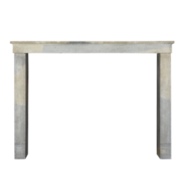 The Antique Fireplace Bank French Bicolor Timeless Rustic Limestone Fireplace Surround