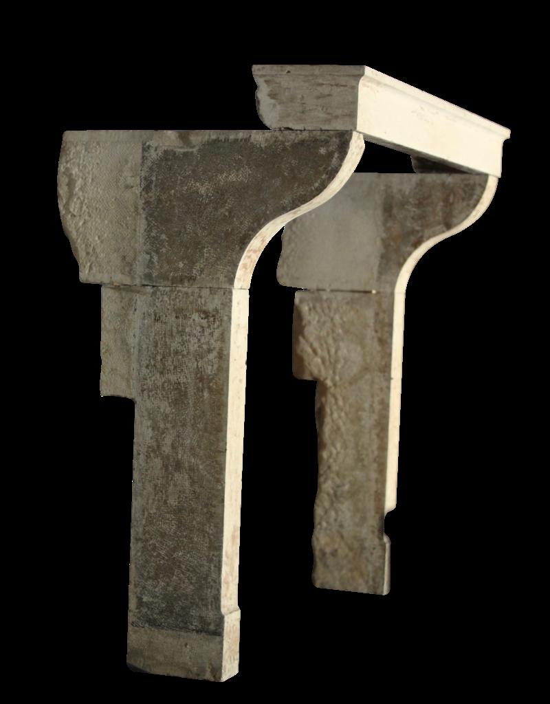 Höhe Französisch Landstil Kamin In Kalksandstein
