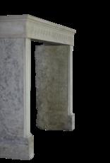 Französisch Landstil Kalkstein Kamin Verkleidung