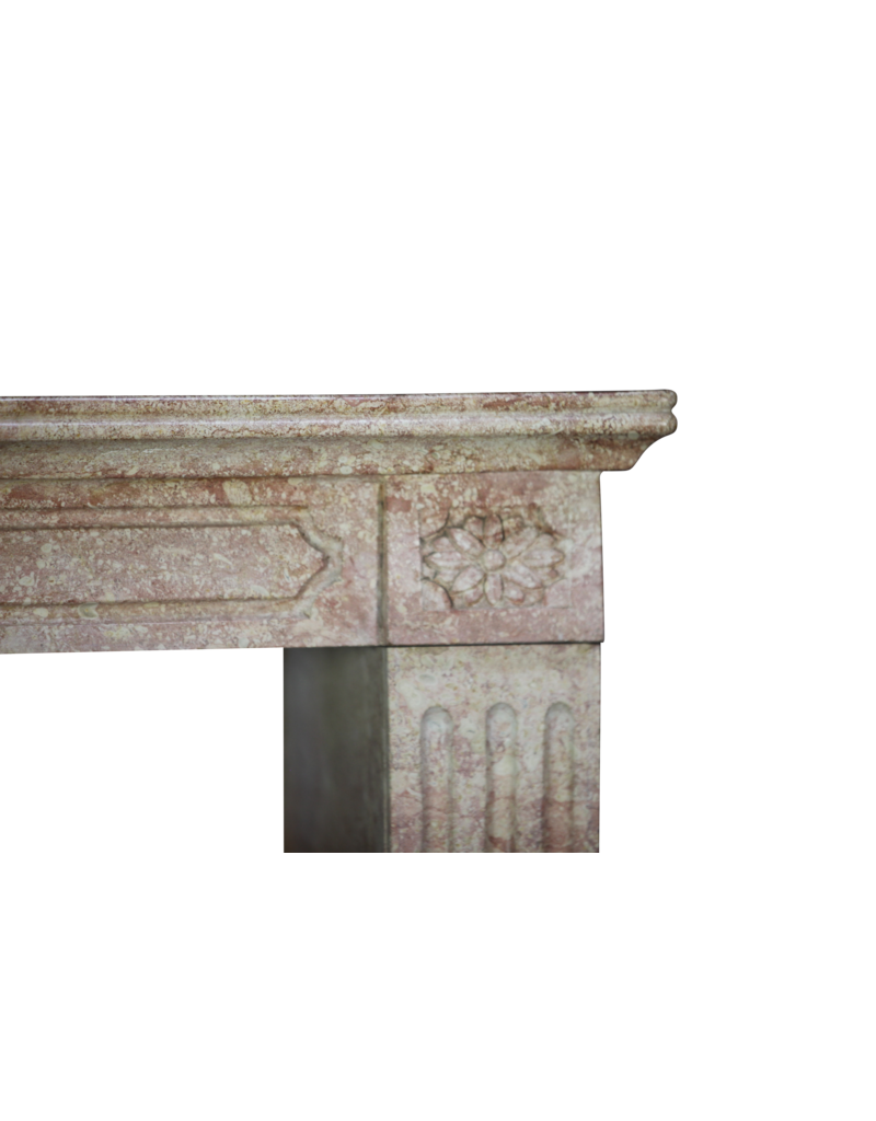 The Antique Fireplace Bank French Burgundy Antique Fireplace Mantle