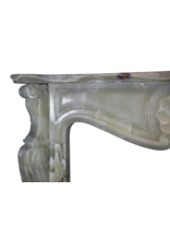 Green Onyx Classic Fireplace Mantle