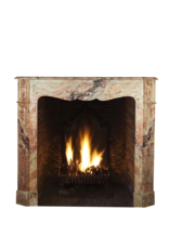 The Antique Fireplace Bank French Pompadour Style Fireplace Mantle