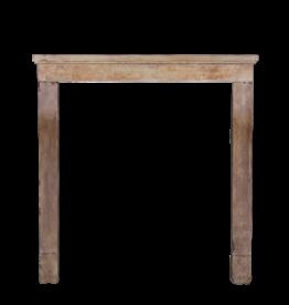 The Antique Fireplace Bank Rústicos Antiguos Renegerado Granja De Piedra Caliza Chimenea