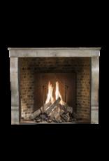 The Antique Fireplace Bank Kleines Grau Französisch Antik Kaminmaske