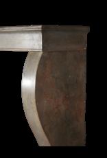 Kleines Grau Französisch Antik Kaminmaske