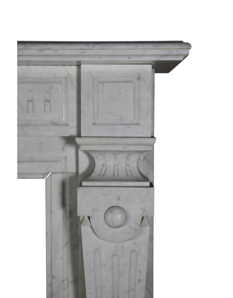 Carrara Vintage Fireplace Surround