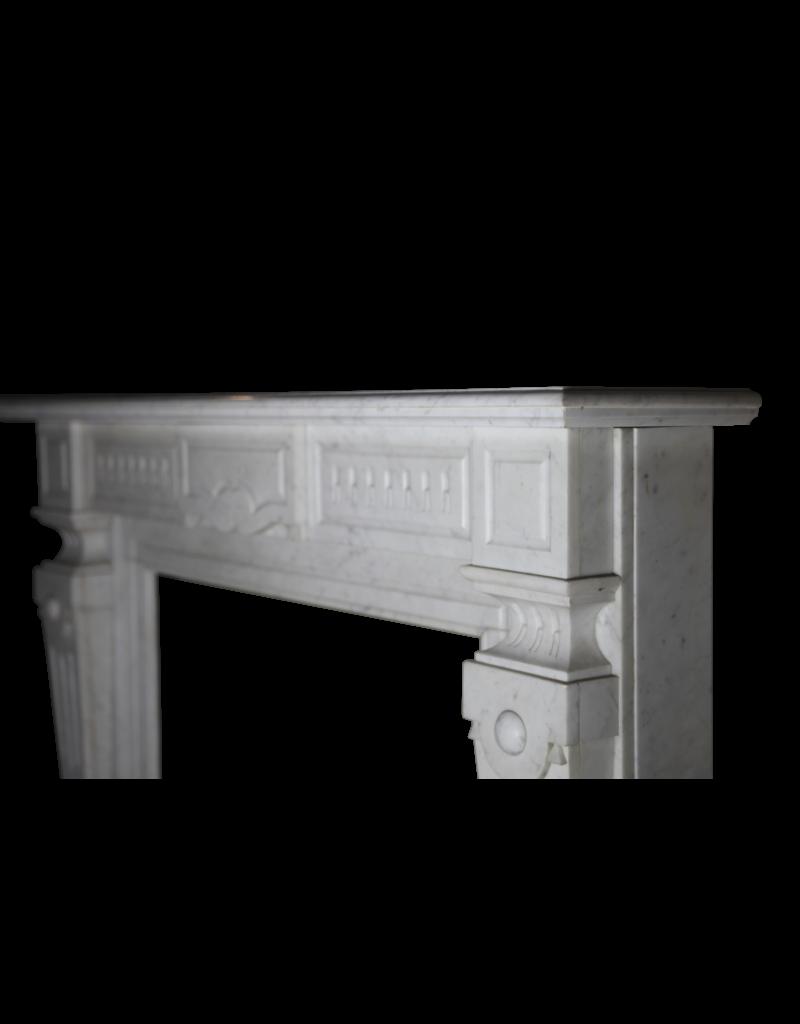 The Antique Fireplace Bank Carrara Jahrgang Kaminmaske