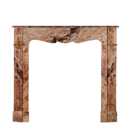 The Antique Fireplace Bank French Pompadour Style Fireplace