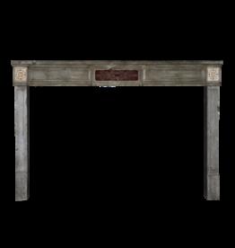 The Antique Fireplace Bank Francés Borgoña Antiguo Chimenea