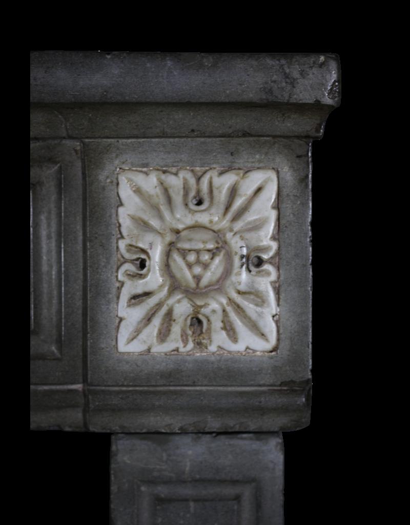 Francés Borgoña Antiguo Cheminea