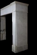 Vintage Carrara Kaminmaske