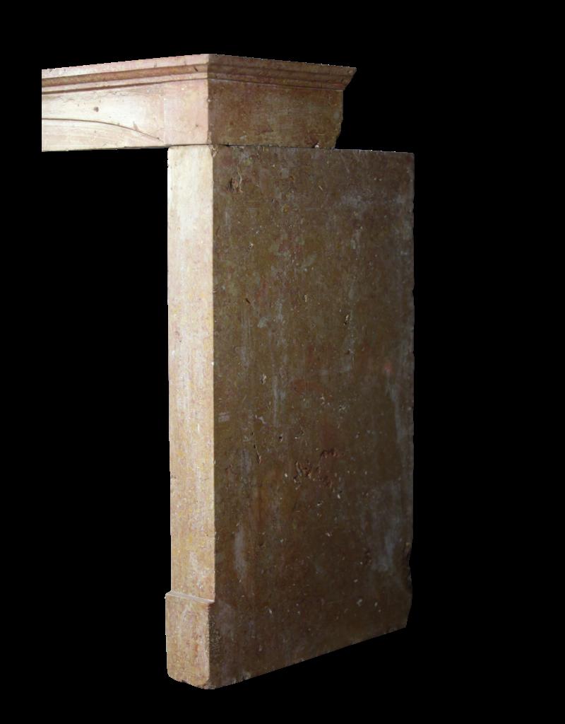 Fein Gerade Französisch Stil Aufgearbeiteten Kaminmaske