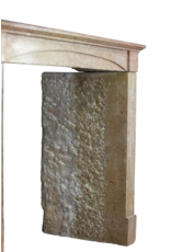 The Antique Fireplace Bank Fine Straight French Style Reclaimed Fireplace Surround