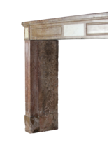 The Antique Fireplace Bank 18. Jahrhundert Red Stein Jahrgang Kaminmaske