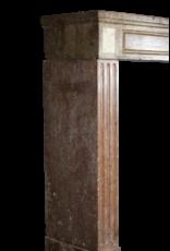 18. Jahrhundert Red Stein Jahrgang Kaminmaske