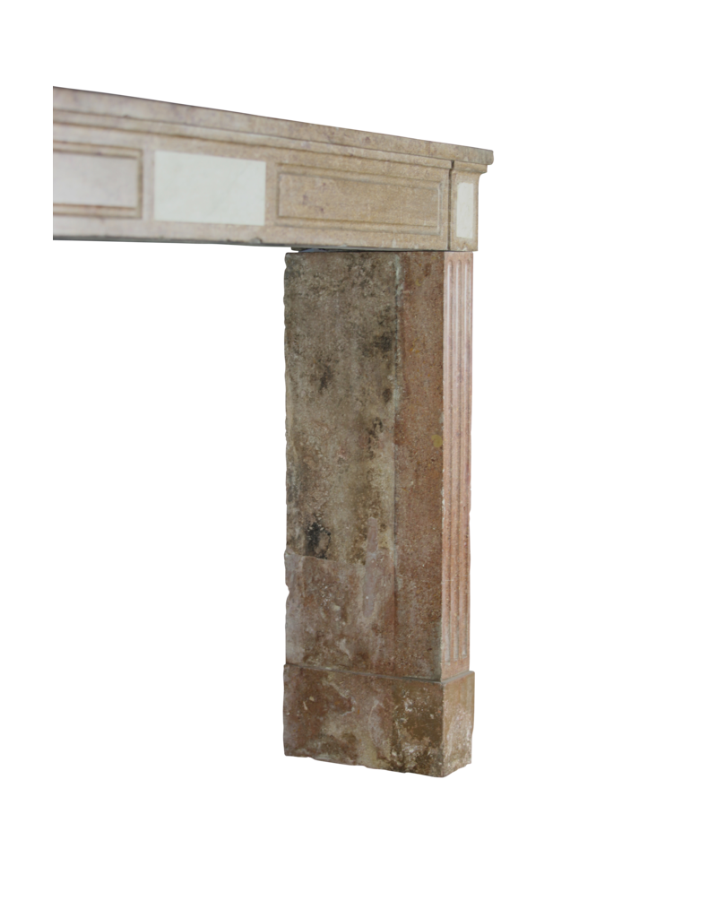 The Antique Fireplace Bank 18Th Century Red Stone Vintage Fireplace Surround
