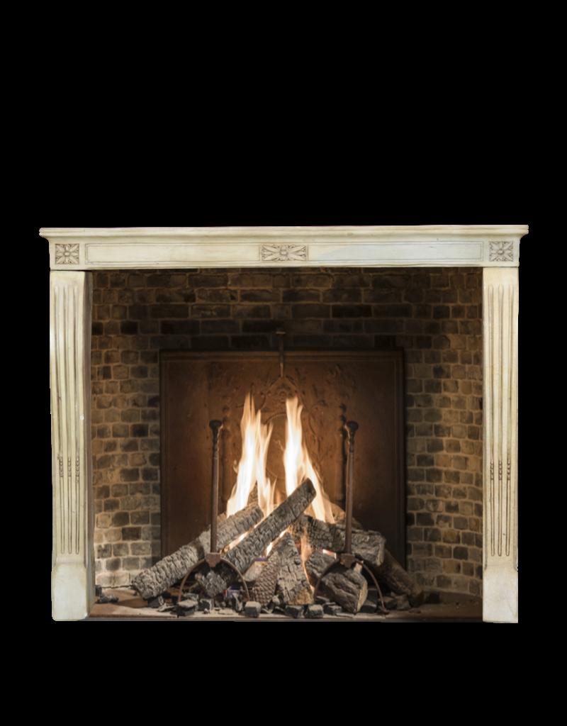 Elegant Vintage French Fireplace Surround