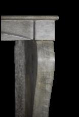 Piedra Azul Francesa Antiguo Chimenea