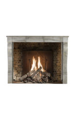 The Antique Fireplace Bank Blue French Stone Antique Fireplace Surround
