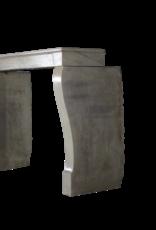 zeitloses Französisch Kalkstein Von Regenerierten Kaminmaske