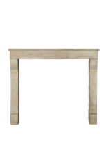 The Antique Fireplace Bank Fine French Limestone Reclaimed Fireplace Surround