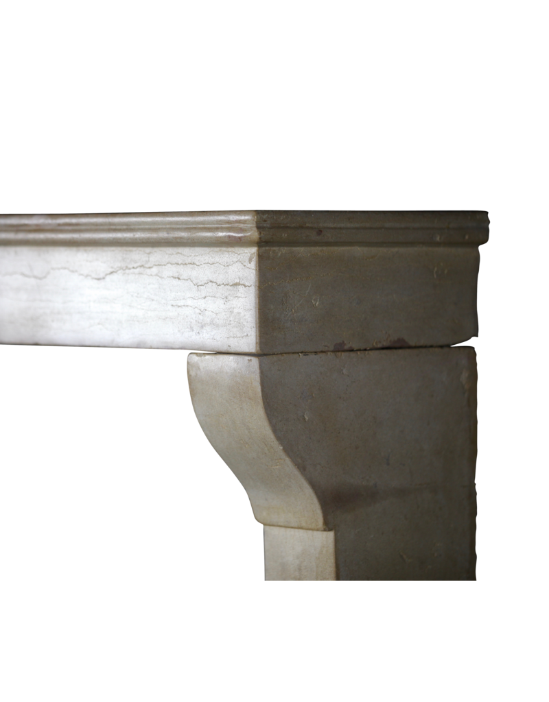 The Antique Fireplace Bank Feines Französisch Kalkstein Von Regenerierten Kaminmaske