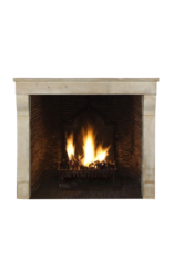 Fine French Limestone Reclaimed Fireplace Surround