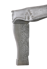 The Antique Fireplace Bank Bicolor French Vintage Stone Surround