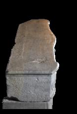 Bicolor Francesa Envolvente De Piedra De La Vendimia