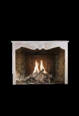 The Antique Fireplace Bank Groß-Rustikale Eiche Kamin Maske