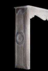 Groß-Rustikale Eiche Kamin Maske