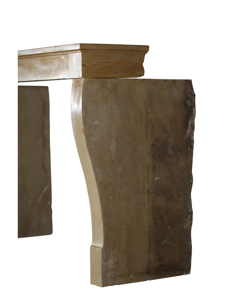 The Antique Fireplace Bank 19Th Century French Limestone Fireplace Surround