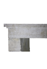 French Country Limestone Fireplace Mantel