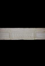 Fine Siglo 18 Francés Chimenea En Piedra Caliza