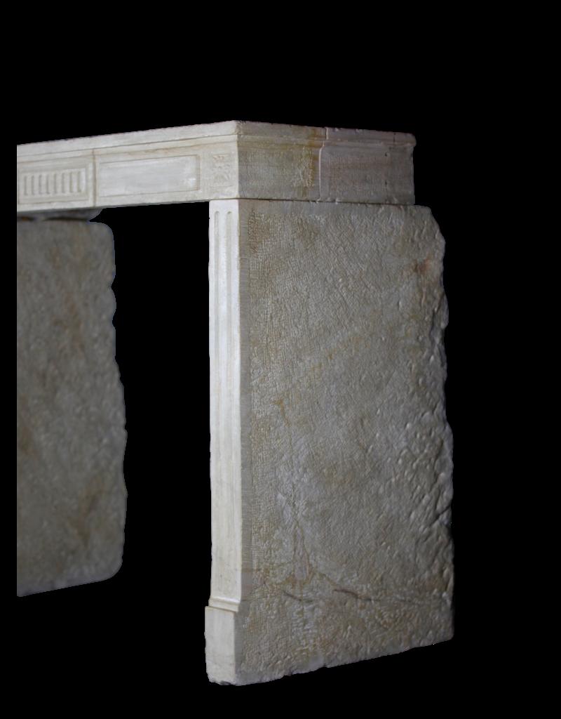 The Antique Fireplace Bank 18. Jahrhundert Feine Französisch Kamin Im Kalkstein