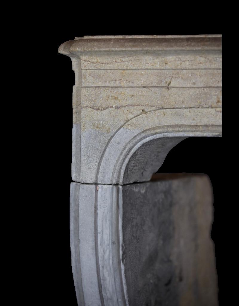 The Antique Fireplace Bank Zweifarbig LXIV Periode Französisch Antiken Stein Surround