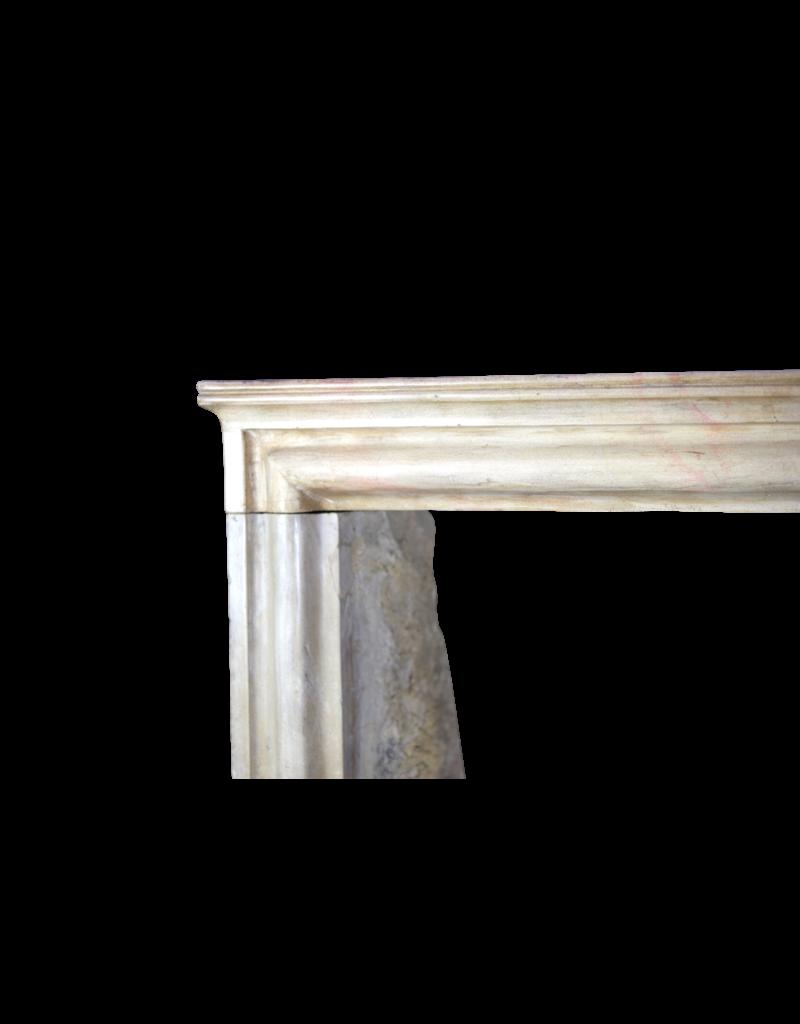 LXIV Estilo Francés Piedra Caliza De La Vendimia Chimenea
