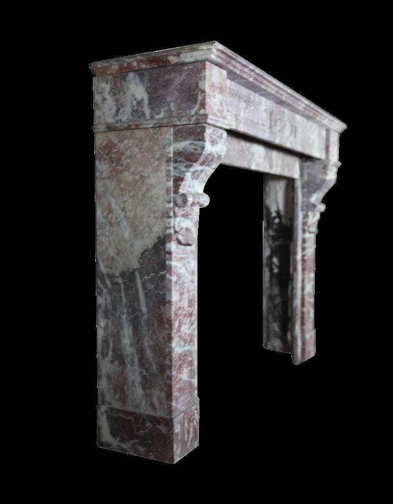 19. Jahrhundert Belgischem Marmor Kamin Verkleidung