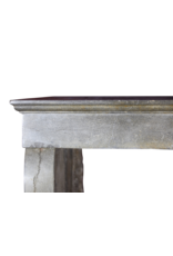 Small Bicolor French Timeless Fireplace Mantle