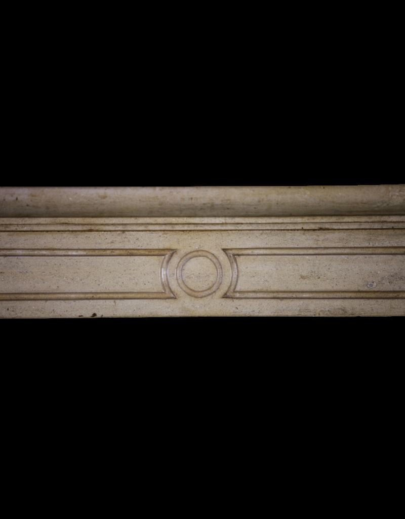 The Antique Fireplace Bank Honig Farbe Französisch Kalkstein Jahrgang Kaminmaske