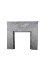 Art Deco Stone Small Fireplace Surround