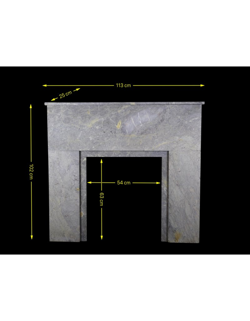 The Antique Fireplace Bank Art Deco Stone Small Fireplace Surround