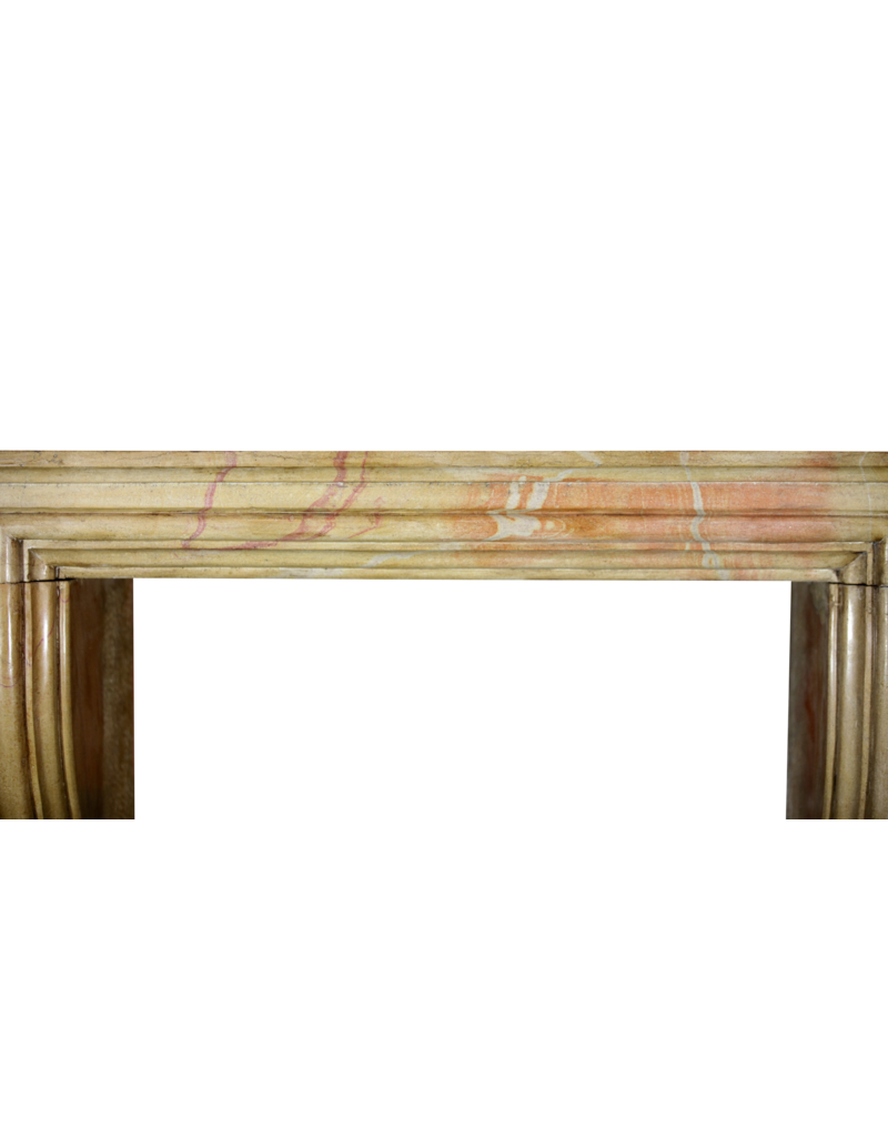 The Antique Fireplace Bank Bicolor LXIV Style French Antique Fireplace