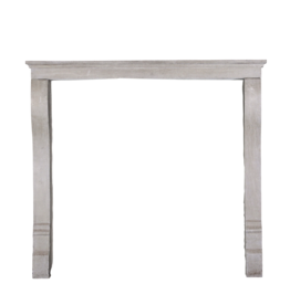Small French Stone Fireplace Surround