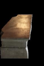 Kleines Französisch Stein Kaminmaske
